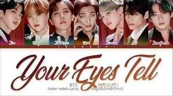 دانلود آهنگ your eyes tell از bts